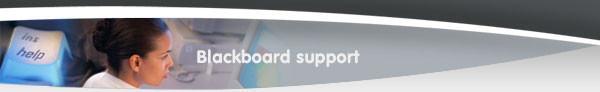 Blackboard Support